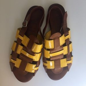 AGL Attilio Giusti Leombruni leather sandals